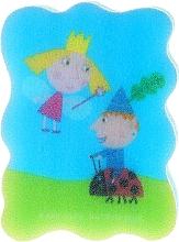 Perfumería y cosmética Esponja de baño ''El pequeño reino de Ben y Holly'', azul claro 2 - Suavipiel Ben & Holly