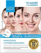 Perfumería y cosmética Mascarilla facial, terapia hidratante de 10 días - Czyste Piekno Moisturizing Therapy 10 Days