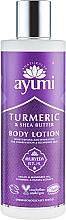 Perfumería y cosmética Loción corporal hidratante con cúrcuma & manteca de karité para pieles mixtas - Ayumi Turmeric & Shea Butter Body Lotion