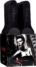 Perfumería y cosmética Set limas de pies desechables de grano 80/120 - MiaCalnea Noir One Use