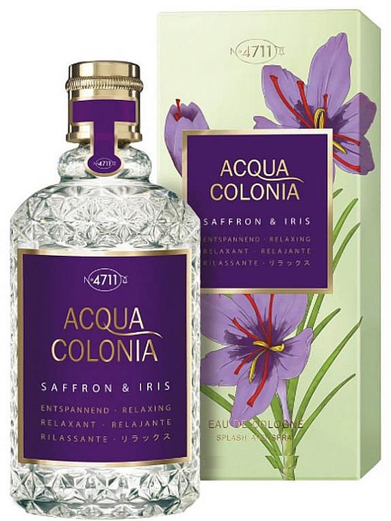 Maurer & Wirtz 4711 Acqua Colonia Saffron & Iris - Agua de colonia