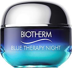 Perfumería y cosmética Crema de noche con extracto de alga - Biotherm Blue Therapy Night Cream