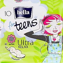 Perfumería y cosmética Compresas For Teens Ultra Relax 10 uds. - Bella