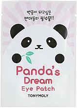 Perfumería y cosmética Mascarilla de tejido para contorno de ojos con aloe y extracto de anís - Tony Moly Pandas Dream Eye Patch