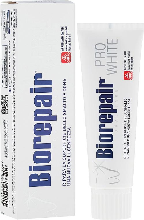 Pasta dental blanqueadora - BioRepair PRO White — imagen N1