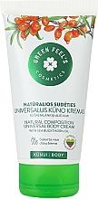 Perfumería y cosmética Crema corporal con aceite de espino amarillo - Green Feel's Body Cream With Natural Sea Buckthorn Oil