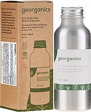 Perfumería y cosmética Enjuague bucal con aceite de árbol de té - Georganics Tea Tree Mouthwash