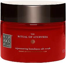 Perfumería y cosmética Exfoliante corporal rejuvenecedor de sal de Himalaya y aceite de almendras dulces - Rituals The Ritual of Ayurveda Body Scrub