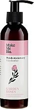 Perfumería y cosmética Loción facial limpiador con extracto de rosa - Make Me Bio Garden Roses Face Cleanser