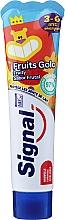 Perfumería y cosmética Pasta dental infantil con sabor frutal - Signal Kids Fruit Flavor Toothpaste