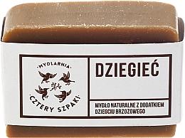 Perfumería y cosmética Jabón con alquitrán de abedul para pieles problemáticas - Cztery Szpaki Soap