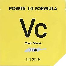 Perfumería y cosmética Mascarilla facial tonificante de tela - It's Skin Power 10 Formula Mask Sheet VC