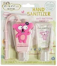 Perfumería y cosmética Set gel higienizante de manos antibacteriano sin alcohol, koala - Jack N' Jill Hand Sanitizer (Koala)