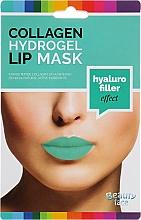 Perfumería y cosmética Mascarilla para labios de hidrogel con colágeno, efecto relleno hialurónico - Beauty Face Collagen Hydrogel Lip Mask Hyaluro Filler