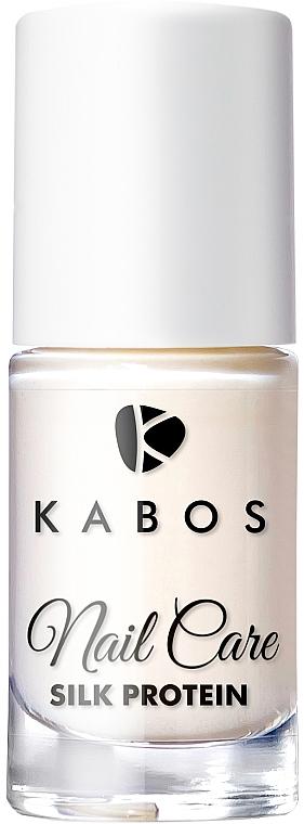 Tratamiento para uñas dañadas con proteínas de seda - Kabos Nail Care Silk Protein