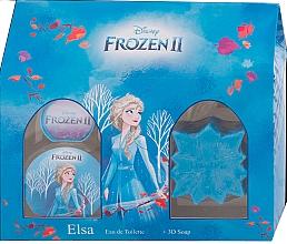 Perfumería y cosmética Disney Frozen II Elsa Gift Set - Set infantil (eau de toilette/50ml + jabón/50g)