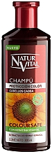 Perfumería y cosmética Champú para cabello teñido caoba - Natur Vital Coloursafe Henna Colour Shampoo Mahogony Hair