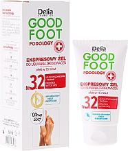 Perfumería y cosmética Gel para pies removedor de callos - Delia Cosmetics Good Foot Podology Nr 3.2