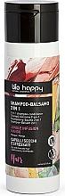 Perfumería y cosmética Champú acondicionador vegano revitalizante con extracto de mango y aceite de aguacate - Bio Happy Jungle Infusion Mango Conditioning Shampoo