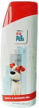 Perfumería y cosmética Gel de ducha y baño con vitamina A y E - Corsair The Secret Life Of Pets Bath&Shower Gel