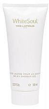 Perfumería y cosmética Ted Lapidus White Soul - Gel de ducha con aroma a ciruela, albaricoque, mandarina