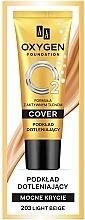 Perfumería y cosmética Base de maquillaje cremosa de cobertura completa - AA Oxygen Cover Foundation