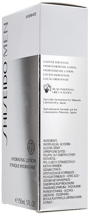 Loción hidratante con damage defense complex - Shiseido Men Hydrating Lotion — imagen N4