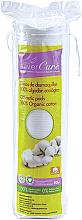 Perfumería y cosmética Discos desmaquillantes de algodón ecológico, 80 uds. - Silver Care Cotton Squares