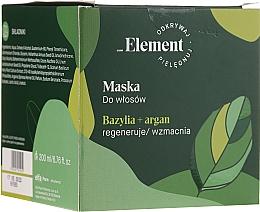 Perfumería y cosmética Mascarilla capilar anticaída - _Element Basil Strengthening Anti-Hair Loss Mask