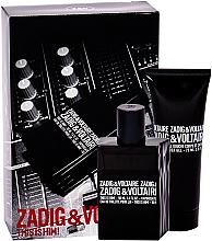 Perfumería y cosmética Zadig & Voltaire This is Him - Set (Eau de toilette/50ml + gel de ducha/75ml)