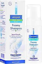 Perfumería y cosmética Champú espumoso con pantenol para pieles con tendencia atópica - Frezyderm Atoprel Foamy Shampoo