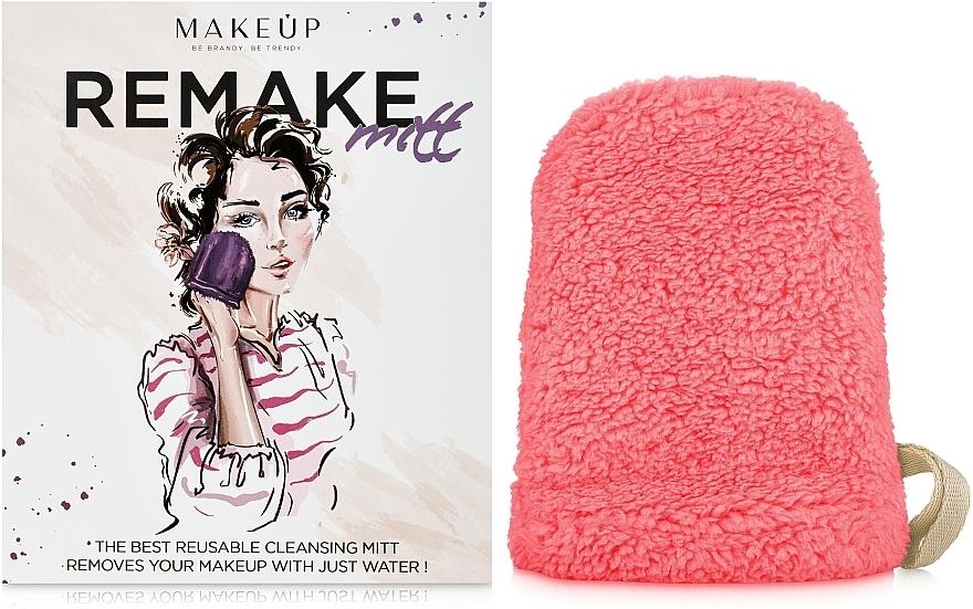 """Guante desmaquillante, coral """"ReMake"""" - MakeUp"""