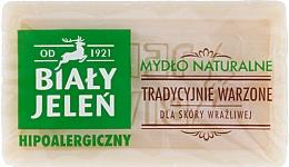 Perfumería y cosmética Jabón natural hipoalergénico de glicerina para pieles sensibles - Bialy Jelen Hypoallergenic Natural Soap