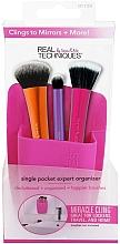 Perfumería y cosmética Organizador de porta brochas de maquillaje rosa - Real Techniques Single Pocket Expert Beauty Organizer Pink