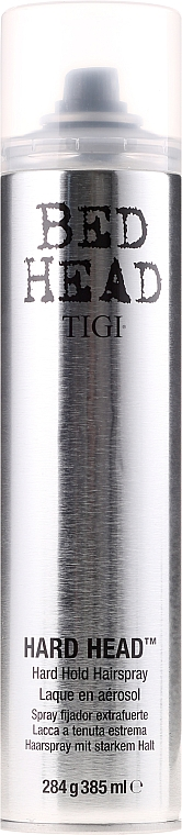 Laca para cabello, fijación fuerte - Tigi Bed Head Hard Head Hold Hairspray — imagen N1