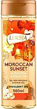 Perfumería y cosmética Gel de ducha con aceite de argán - Luksja Moroccan Sunset & Golden Argan Oil Shower Gel