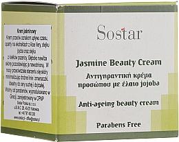 Perfumería y cosmética Crema facial antiedad a base de extractos de aloe vera & jojoba - Sostar Jasmine Anti-Aging Beauty Cream
