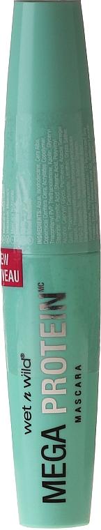 Máscara de pestañas acondicionadora a base de proteínas de soja y trigo - Wet N Wild Mega Protein Mascara