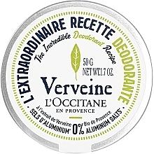 Perfumería y cosmética Desodorante en crema con extracto de verbena y manteca de karité orgánica - L'Occitane Verbena Deodorant