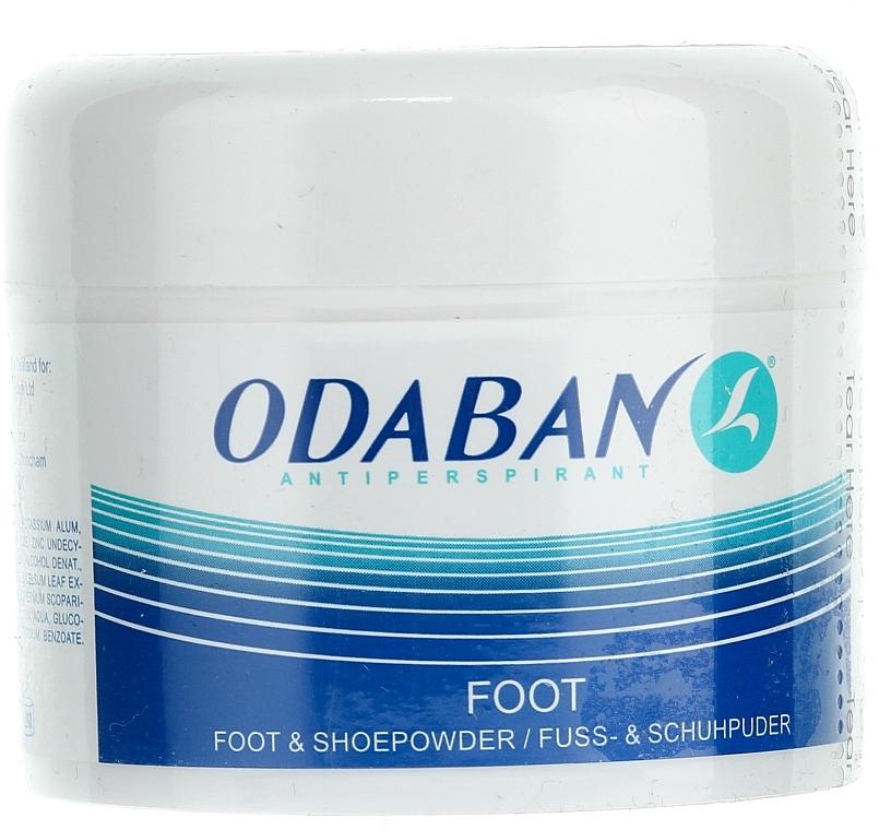 Polvo para pies y zapatos - Odaban Foot and Shoe Powder
