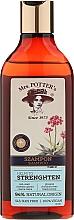Perfumería y cosmética Champú con extractos de ginseng & rábano - Mrs. Potter's Helps To Strenghten Shampoo