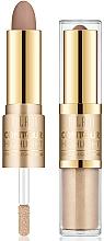 Perfumería y cosmética Iluminador facial líquido y contorno cremoso - Milani Contour & Highlight Cream & Liquid Duo