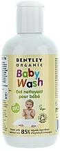 Perfumería y cosmética Gel de ducha para cuerpo y cabello con manteca de karité, aloe vera y vitamina E - Bentley Organic Baby Wash
