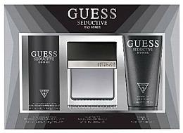 Perfumería y cosmética Guess Seductive Homme - Set (Eau de toilette/100 + desodorante en spray/226ml + gel de ducha/200ml)