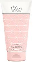 Perfumería y cosmética S.Oliver So Pure Women - Gel de baño y de ducha