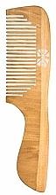 Perfumería y cosmética Peine de madera - Ronney Professional Wooden Comb 122