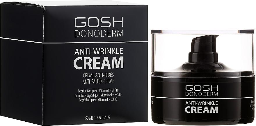 Crema facial antiedad con complejo peptídico y vitamina E - Gosh Donoderm Anti Wrinkle Cream Prestige — imagen N1