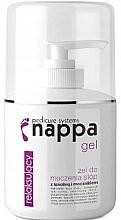 Perfumería y cosmética Gel relajante para pies con lanolina - Silcare Nappa 500 Foot Soak Gel