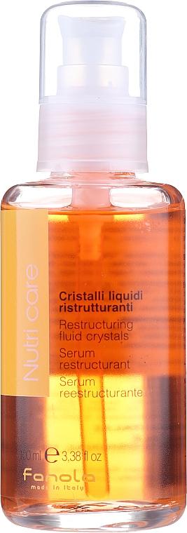 Fluido para cabello con aceite de linaza y jugo de aloe vera - Fanola Nutry Care Restructuring Fluid