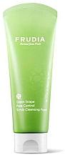 Perfumería y cosmética Espuma exfoliante facial seborreguladora con extracto de uva verde - Frudia Pore Control Green Grape Scrub Cleansing Foam
